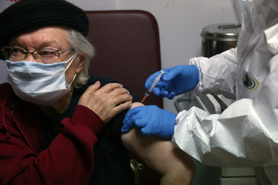 #Coronavirus Watch in Mideast, Jan. 22:  --Turkey says 2nd batch of COVID-19 vaccines to arrive from China --Israel to start vaccination for high school students --Iran registers 1,360,825 total cases --Iraq's total infections hit 612,092