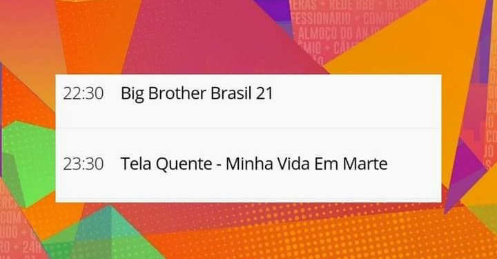 """#BBB21 terá """"UMA HORA"""" de duração em sua estreia!!!"""