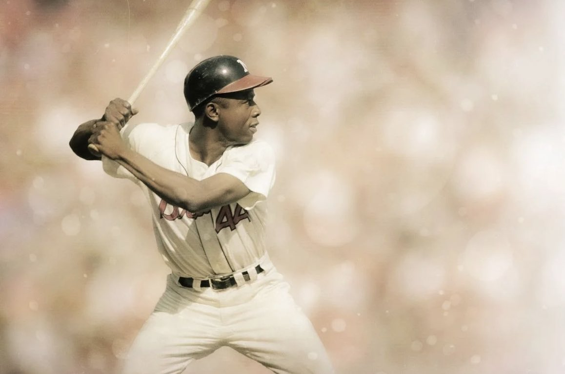 Mobile's own Hammerin' Hank Aaron...Rest In Peace! #RIP #Legend #MobileAL