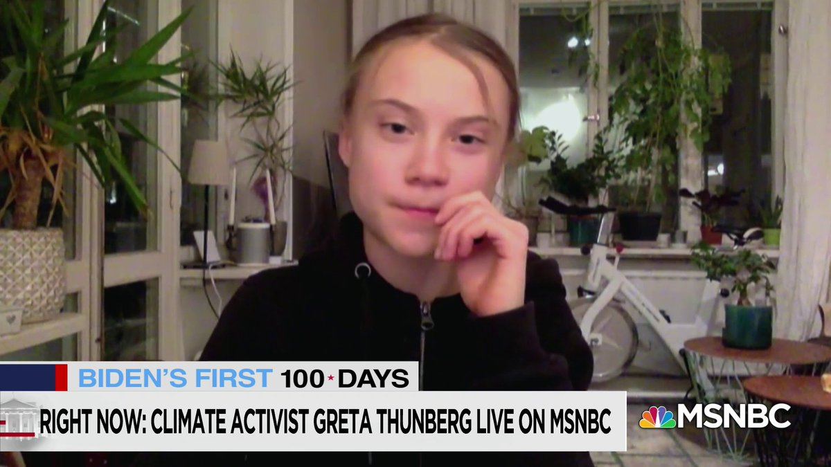 """. @GretaThunberg: """"How can we expect anything to happen when we aren't treating this crisis like a crisis."""" https://t.co/pI5MqPFjgv"""