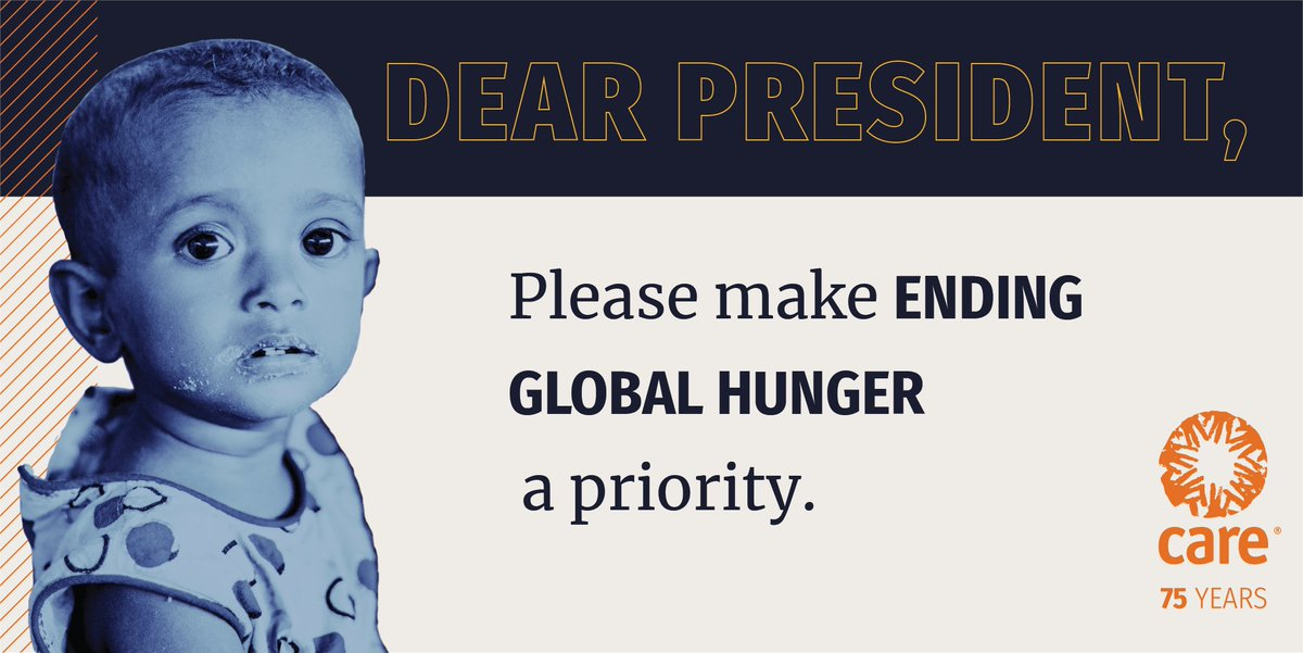 #COVID19 will likely DOUBLE global hunger and malnutrition. Together, we can make a difference. Raise your voice with us and tell @POTUS @JoeBiden to help fight global hunger: