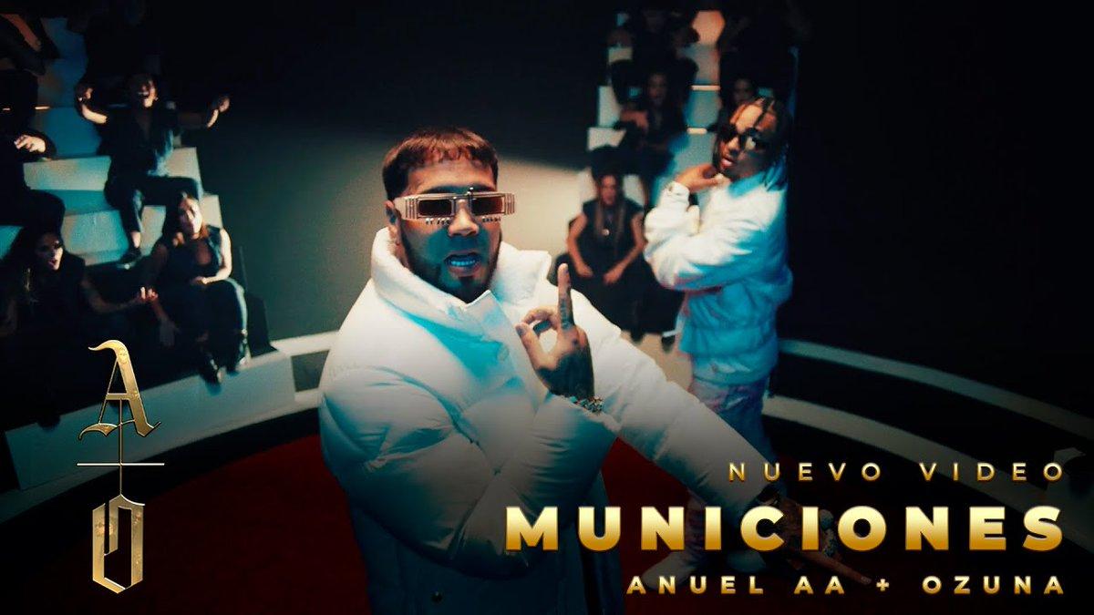 ¿Listos para escuchar todo el día #Municiones? 🔥🔁 #LosDioses @Anuel_2bleA y @ozuna