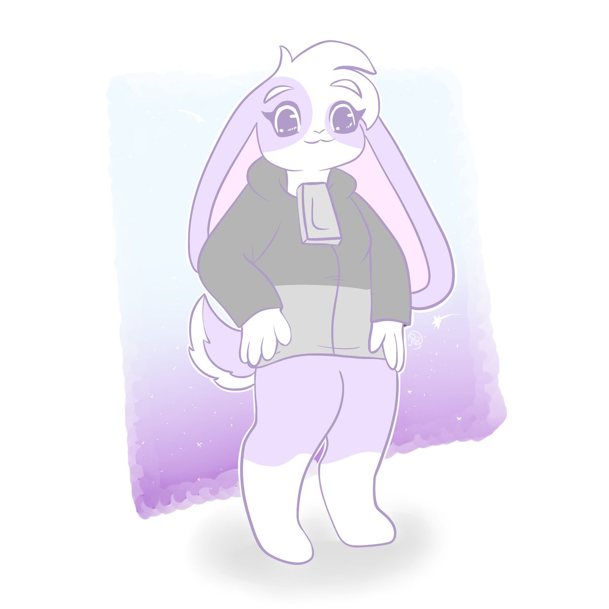 First drawing on my new tablet is for @AshNicholsArt <3 #HuniCast