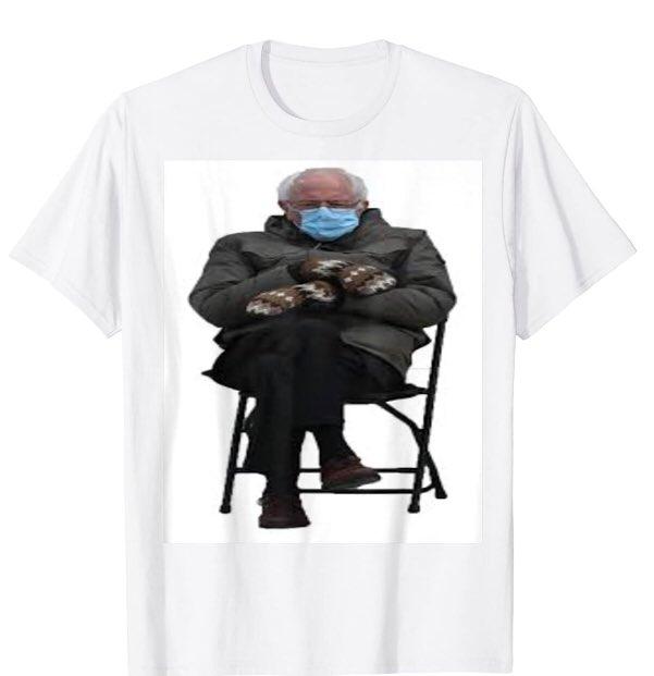 Bernie memes Bernie Sanders memes 2021 T-Shirt  #Berniememes  #dreamwaswrong