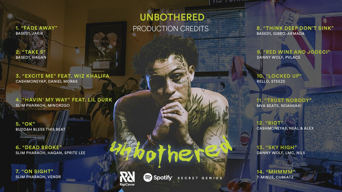 Skies producers went stupid on Unbothered, peep who contributed to his new album 🎹🔥