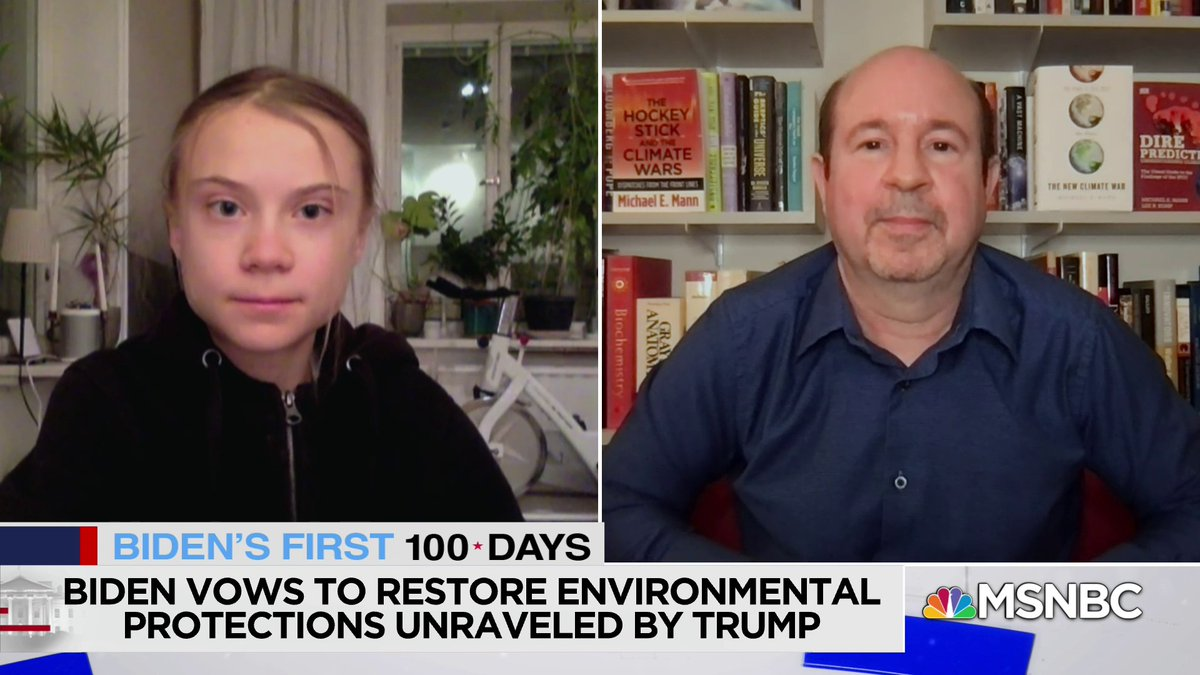 """. @GretaThunberg says that the U.S rejoining the Paris Agreements is a """"crucial first step."""" But she says """"time will tell"""" if the new administration will fulfill what they promised. https://t.co/6ARPBx5qgc"""