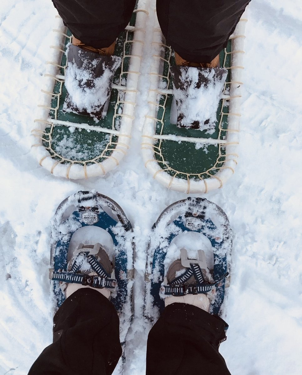 SNOWSHOE ADVENTURES #Upstate #NY #winter in the #Adirondacks and #TugHill area is perfect for #snowshoeing   — #wellnesstelodge #wellnesste #snowshoeingadventures #nywinter #escapenyc #cabinadventures #cabingetaway #nyhiking #airbnb #iloveny #centralny #CNY