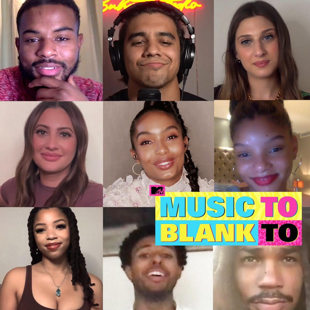 What's the cast of @grownish listening to right now? @YaraShahidi, @chloexhalle, and the rest of the cast made us the ultimate playlist!   From @Olivia_Rodrigo to @BLACKPINK, @_FloMilli and more... here's what they recommend! 🎶👇
