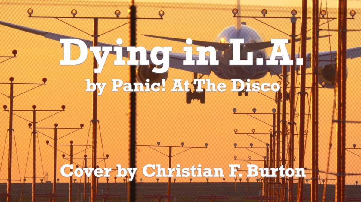 Dying In L.A. - Panic at the Disco (A Cappella Cover)   #Music  #singer #Acappella #coversong #songcover #musiccover #MusicVideo #MusicVideos #MusicMonday #MusicMondays #MusicMondaze #MusicFriday #FridayNight