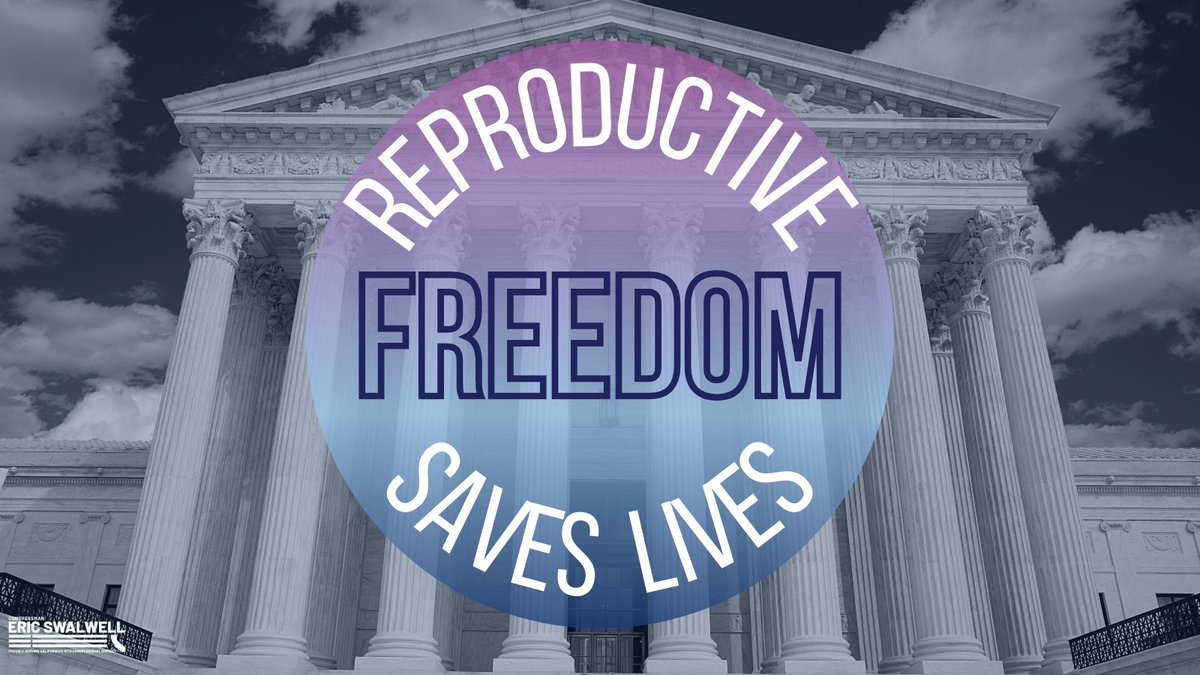 Today marks 48 years since the landmark #RoevWade decision, which established the right to safe and legal abortions.  Reproductive rights are human rights, and every American should be able to receive the care they need.