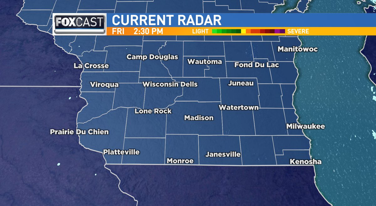 Making afternoon plans? Here's a look at the current radar for southern #Wisconsin.  #wiwx