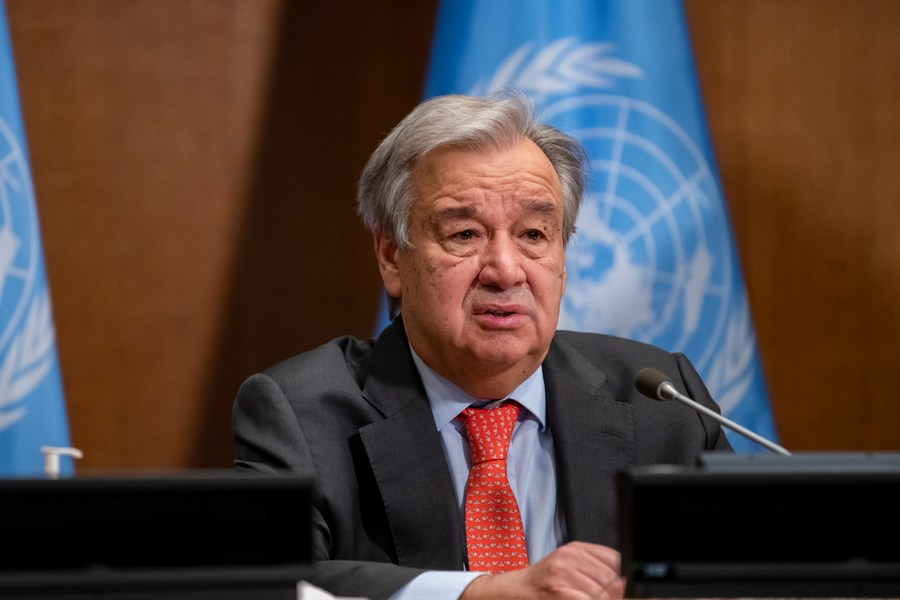 UN chief welcomes U.S. decision to seek five-year extension of New START treaty
