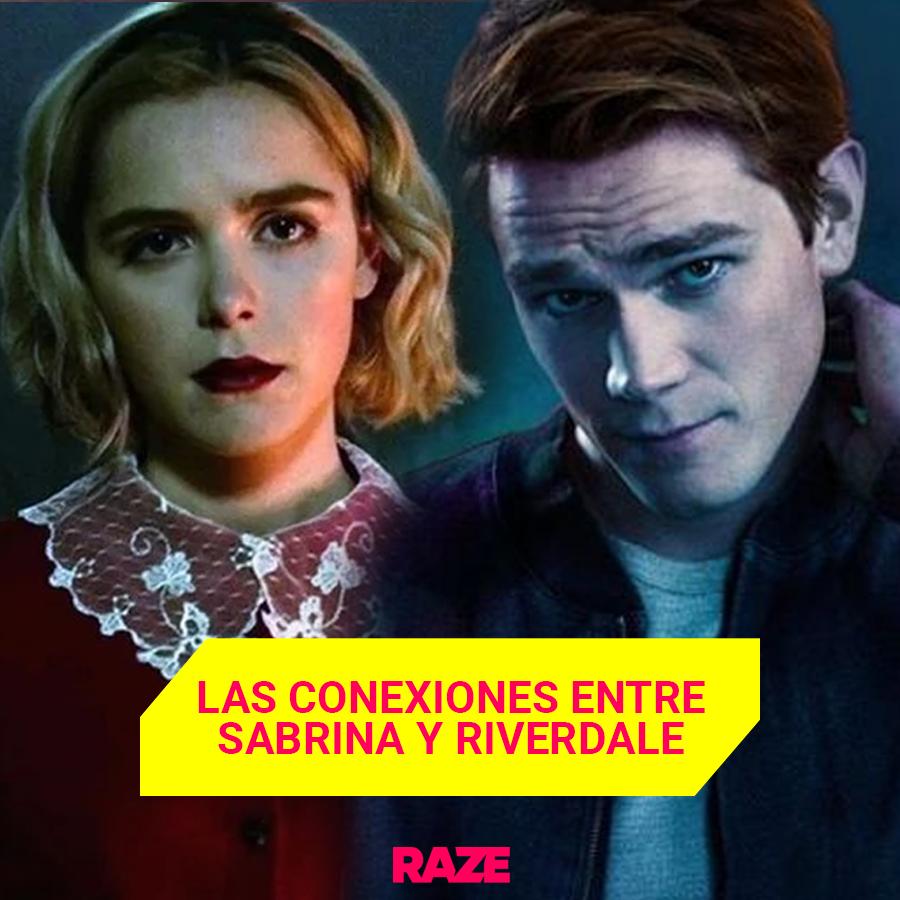🤓 Aquí te contamos todas, SÍ TODAS las conexiones que sabemos entre Riverdale y Sabrina.