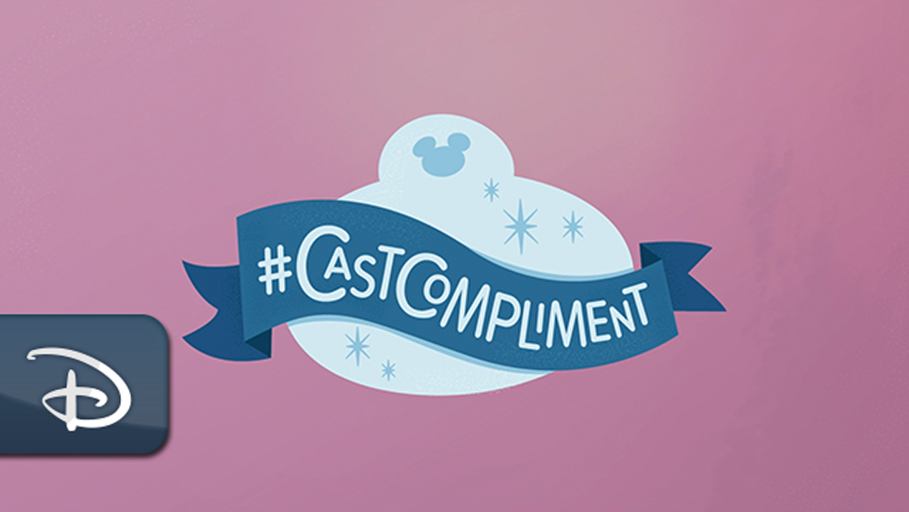 Our guests share amazing #CastCompliment stories with us every day, and we love reading all of them. In preparation for National Compliment Day this Sunday, we're sharing how much your compliments mean 💕 to our cast:  #DisneyMagicMoments
