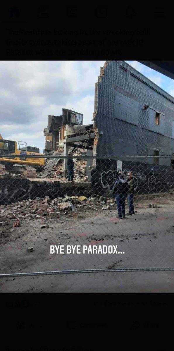 The Paradox walls have been broken down.