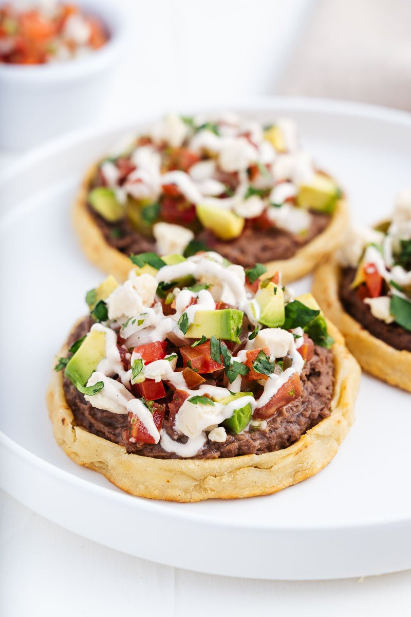 Mexican sopes made cheap, easy, and vegan