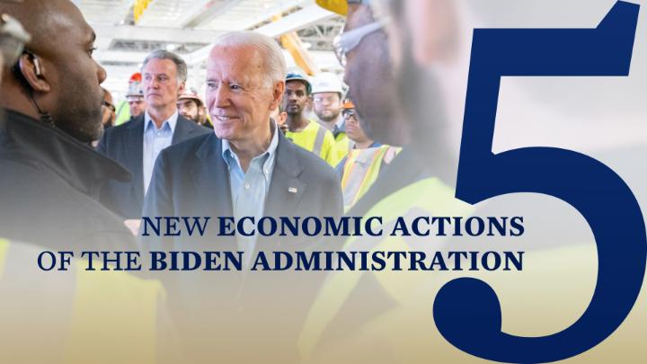 We're facing an economic crisis brought on by a public health crisis. And today, the Biden-Harris Administration took bold action to provide relief to help those who are struggling most.