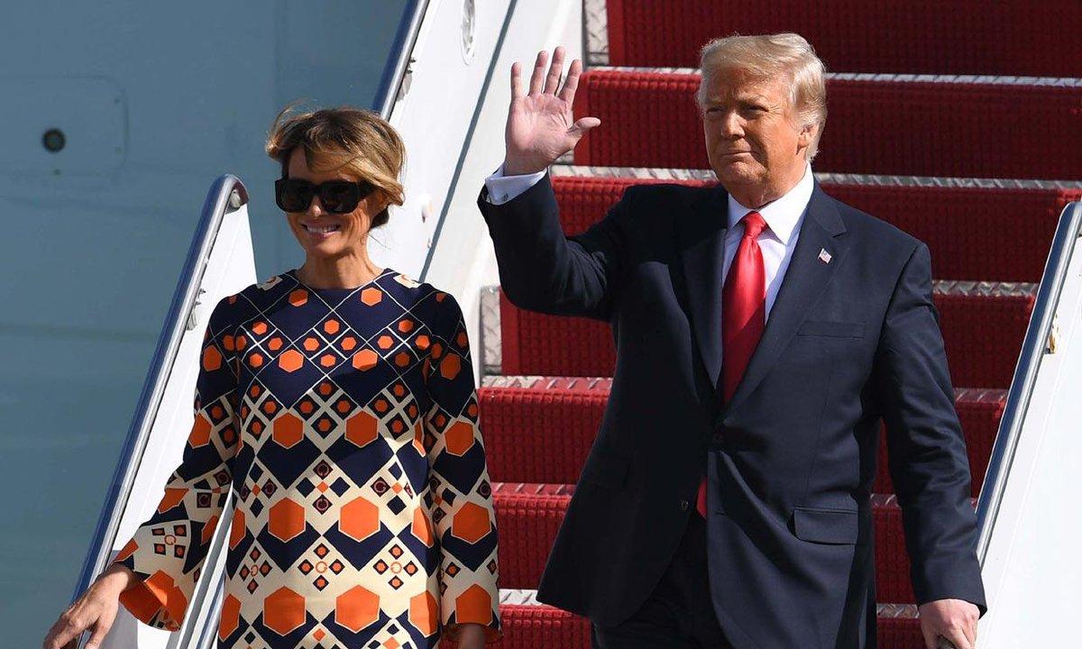 ¿Cuáles son las claves de la nueva vida de Melania Trump? Ella misma las escenificó a su llegada a Florida