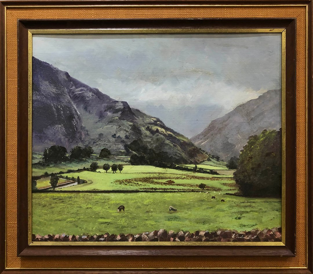 Our next online-only Interiors auction will be taking place at the usual time this Sunday from 12 pm onwards!  Lot 372 Colin Ventris Bell (1919-1983) 'Scottish Highlands, Moar Glencoe'. 39cm x 49cm, framed.  Estimate £200 - £400  Online-only Interiors: 24th of January  #colinve https://t.co/Xwj0nrz5kE