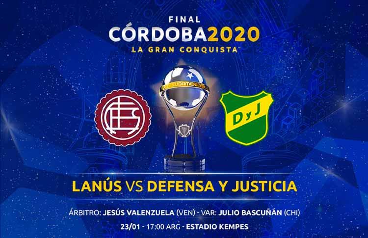 La Gran Conquista: @clublanus y @ClubDefensayJus definen el noveno título para Argentina   🔗   El equipo ganador le dará al país su noveno título en este certamen continental.