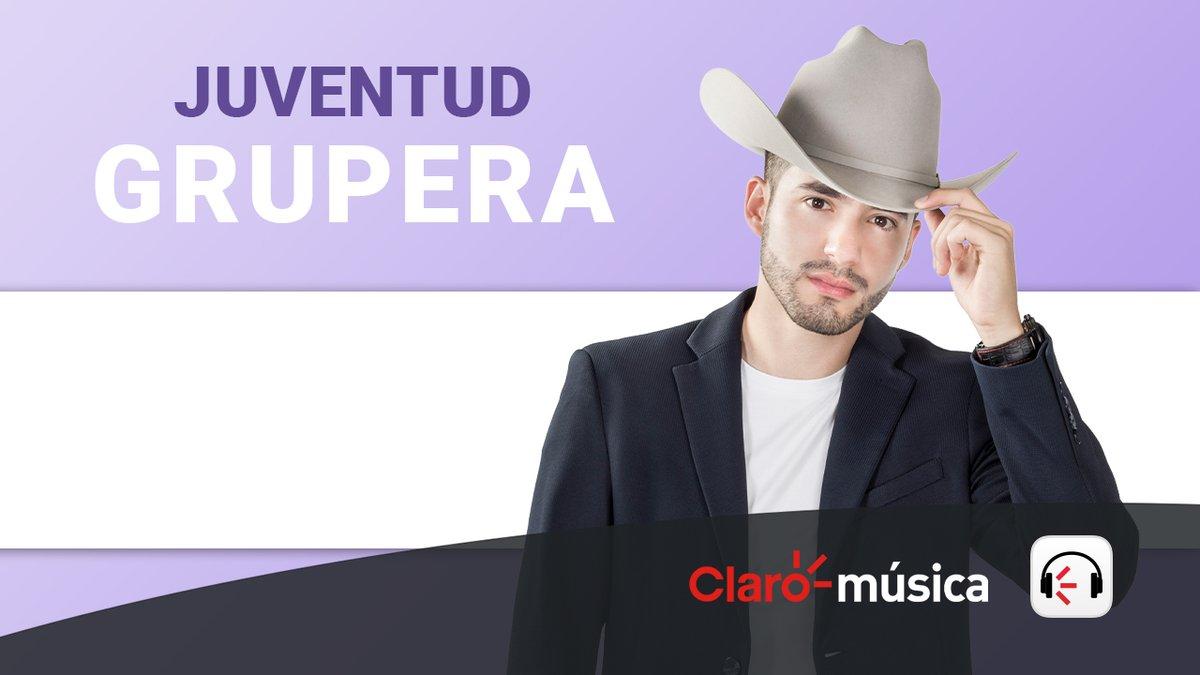 Mi gente somos portada en la playlist #JuventudGrupera de @ClaromusicaMX!! Ya la siguen?? Gracias por todo el apoyo siempre a mis compas de #ClaroMusica!