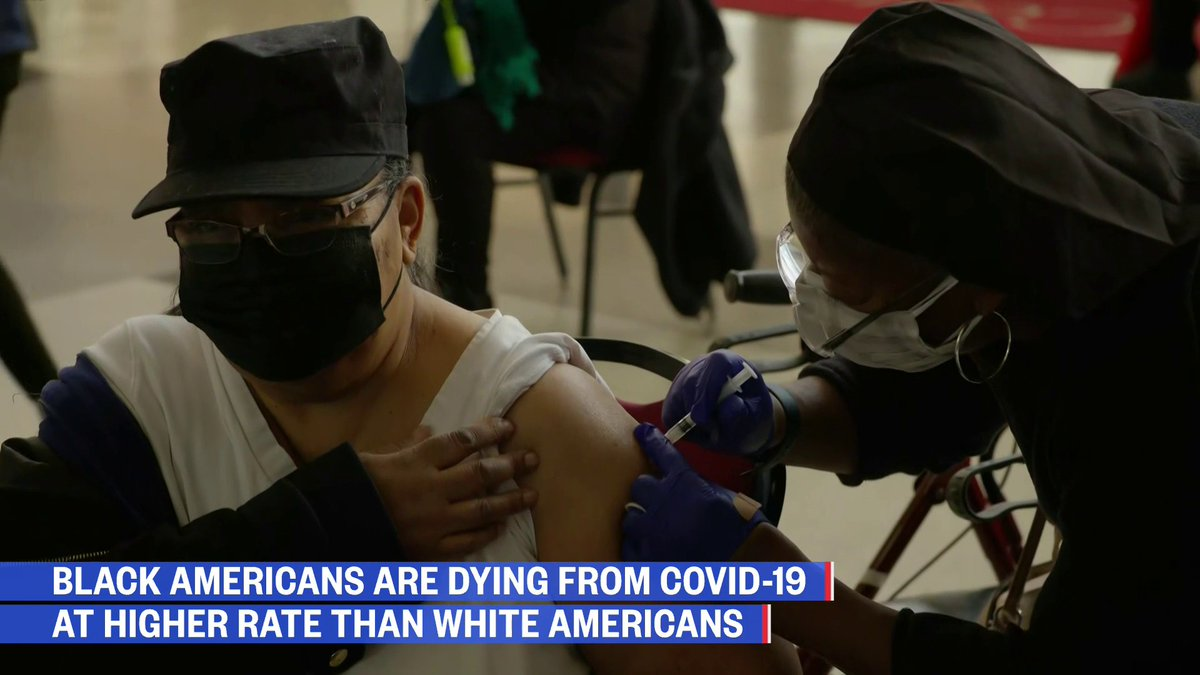 """.@CDCgov data shows Black Americans are dying from Covid-19 at a higher rate than white Americans.  @kavitapmd: """"There have been deep disparities before Covid, they've gotten exacerbated since Covid started…""""   #FactsOverFear  Watch NOW:"""