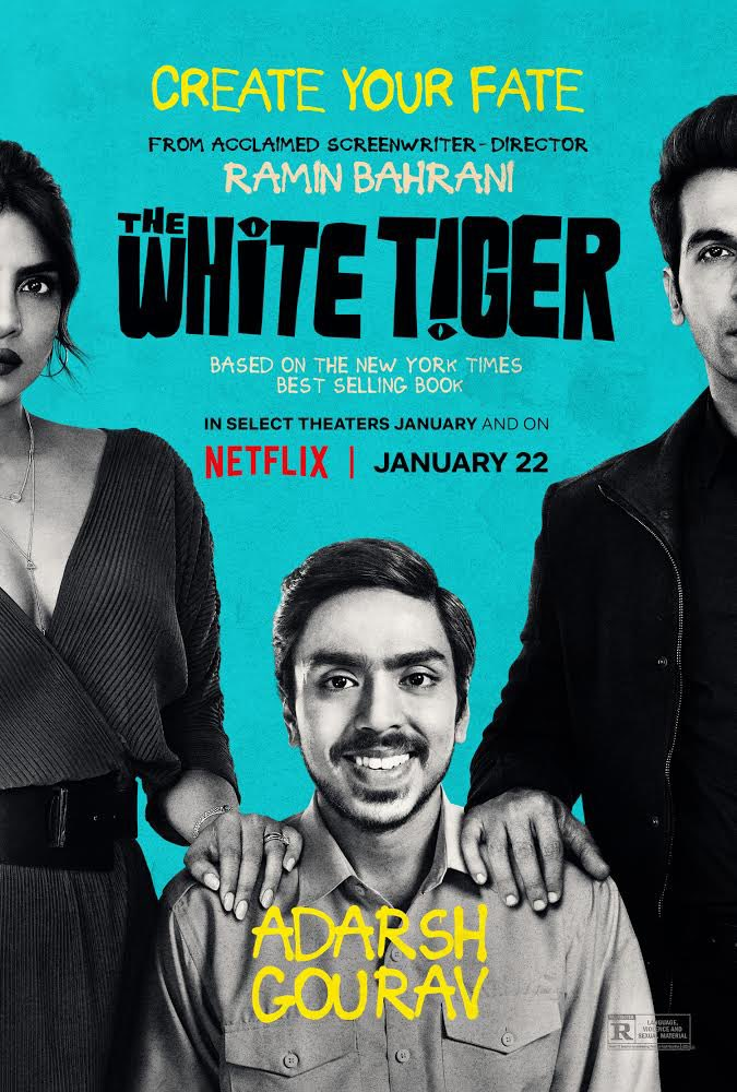 The White Tiger is out now on @netflix!!! So incredibly proud of my wife @priyankachopra for her work as both an actor and a producer on this movie. Everyone do yourself a favor and go watch this movie right now! Congrats to the entire cast and crew and creative team.