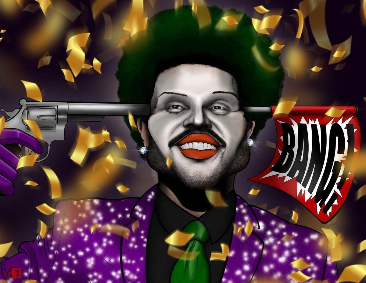 The CoMeDnn #saveyourtears @theweeknd #joker @v51dna