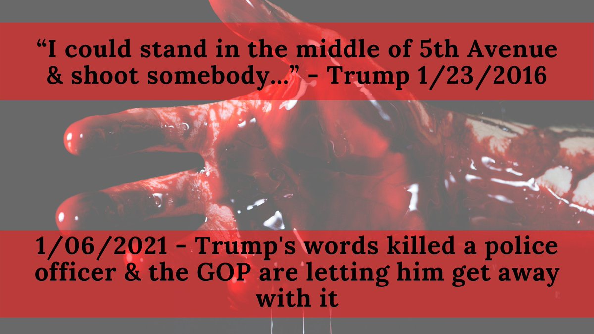@DonaldJTrumpJr 1. Learn how to construct a proper sentance. The apple doesn't fall far...  2. He incited an insurrection on his own people. This is indeed a war.  3. No matter how much you try to defend him, he will always be the worst president in US history.   #BanTrumpSaveDemocracy
