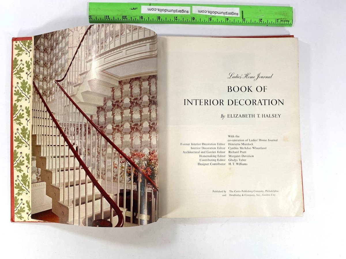 Smart Buys! Ladies Home Journal book of Interior Decoration Elizabeth T. Halsey starting from $1000.00 at https://t.co/NA3oJi0LR6 See more. 🤓 #vintageforsale #vintagestyle https://t.co/lc3YgaSmrL