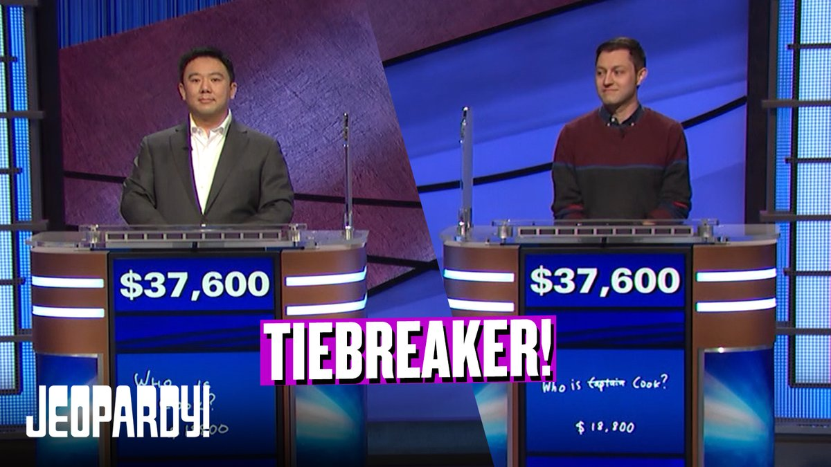 What an ending! Here's what happens when two contestants are tied after Final Jeopardy!