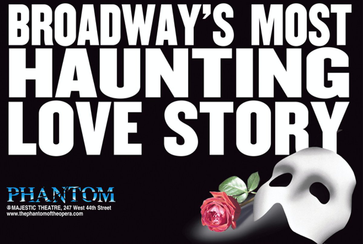 The longest-running show in #Broadway history, @PhantomBway, opened #onthisday exactly 33 years ago. Still running with the largest #Broadway orchestra until last year's shutdown, its future is now uncertain given the changes imposed by @CamMackLtd on its London counterpart. #OTD