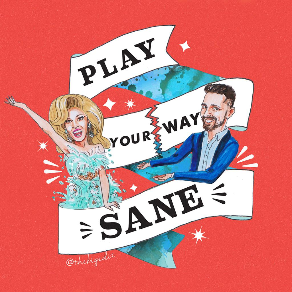 Join author, Clay Drinko (@playyourwaysane) and Miz Cracker (@miz_cracker) on 1/24 for a virtual launch party celebrating #PlayYourWaySane📖.   Register for the event here:    #TillerPress