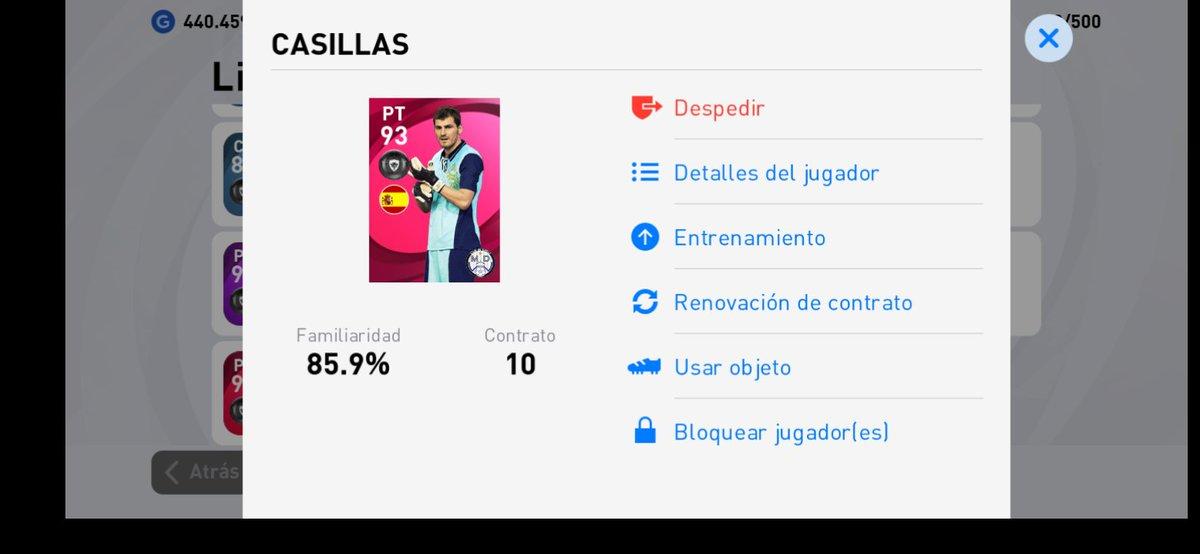 Mientras estoy viendo el último episodio de #ColgarLasAlas entro al Pes 2021 del celular para hacer una compra y no me creo!!! Me ha tocado Iker 🙌🏽 Es una coincidencia? 🤯