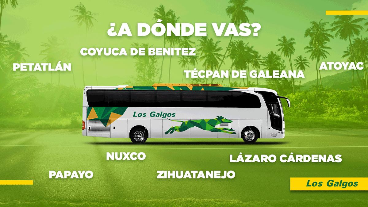 Si necesitas salir, los nuevos autobuses de Los Galgos son tu mejor opción. ¿A dónde irás con nosotros? ¡Vámonos! #NosPonemosEnMovimiento #SiempreJuntos