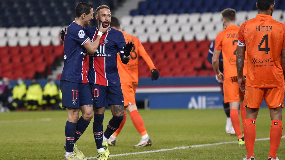 — @neymarjr 60'  — @MauroIcardi 62'  — @KMbappe 63'   3️⃣ goals in 4️⃣ minutes 🤪