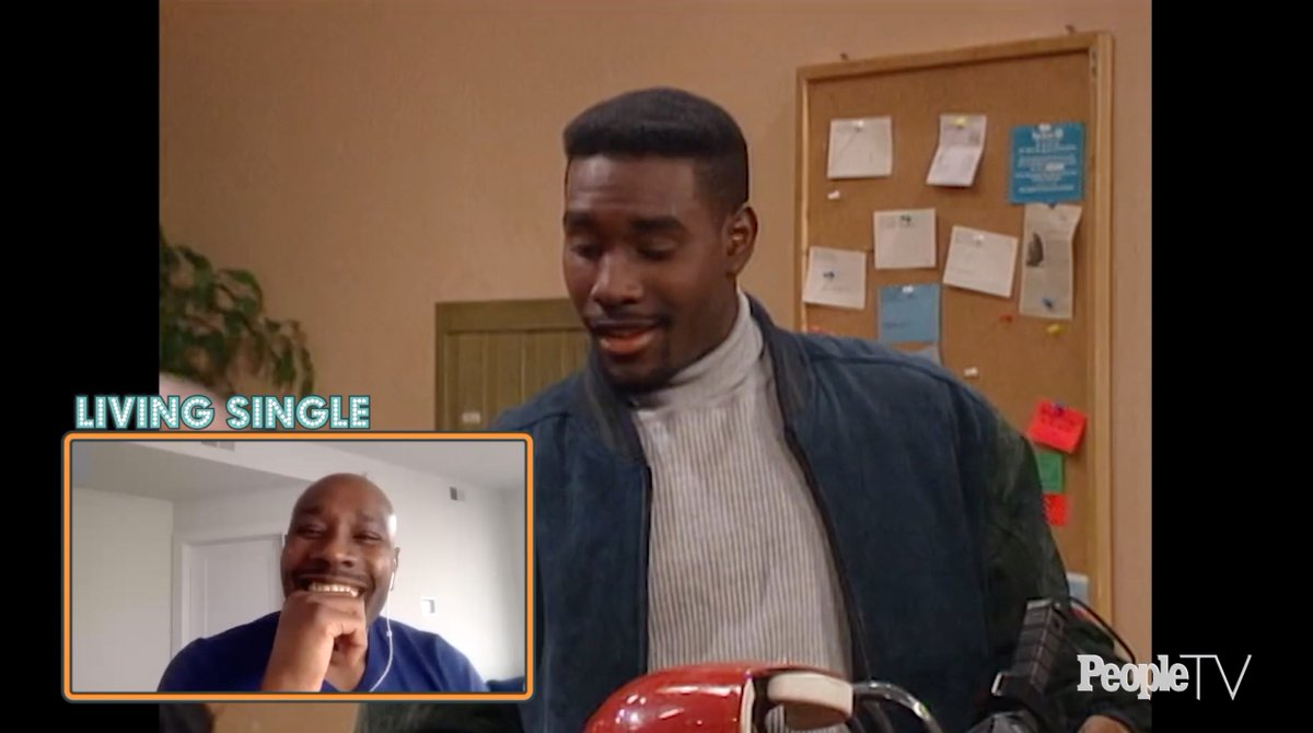 .@Morris_Chestnut wishes he could have been in more episodes of #LivingSingle. See the full @PeopleTV #CouchSurfing episode: