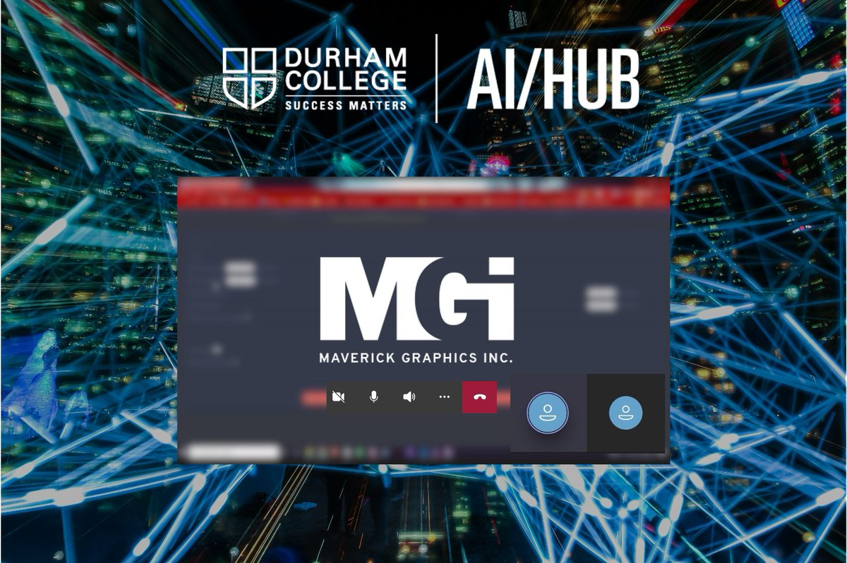 This week we had a meeting with @mavgraphics to review the progress on the application. We can't express enough how #DCProud we are of this collaboration and the way #AI is creating new ways of managing #RealEstate for professionals and clients.  @durhamcollege #DCProud