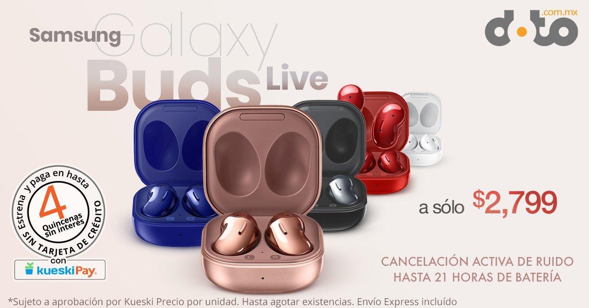 Buenas buenas, nomás pasando a dejar nuestros #Samsung #GalaxyBudsLive más baratos con 1 año de garantía por defecto de fabricación y envío gratis. Ya, namás quería decir eso.  Dale click acá si quieres estrenar ahora:
