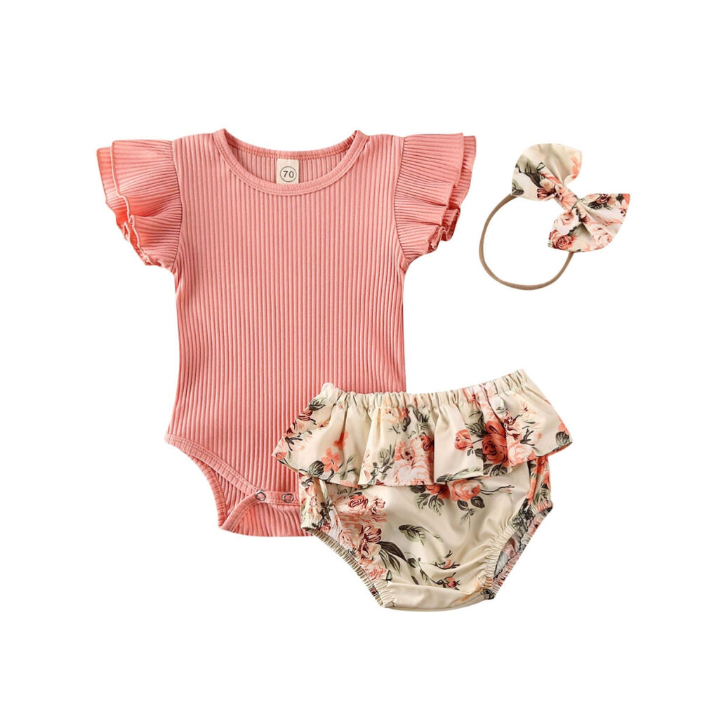 Floral Shorts & Headband Bodysuit For Girls #fun #outside