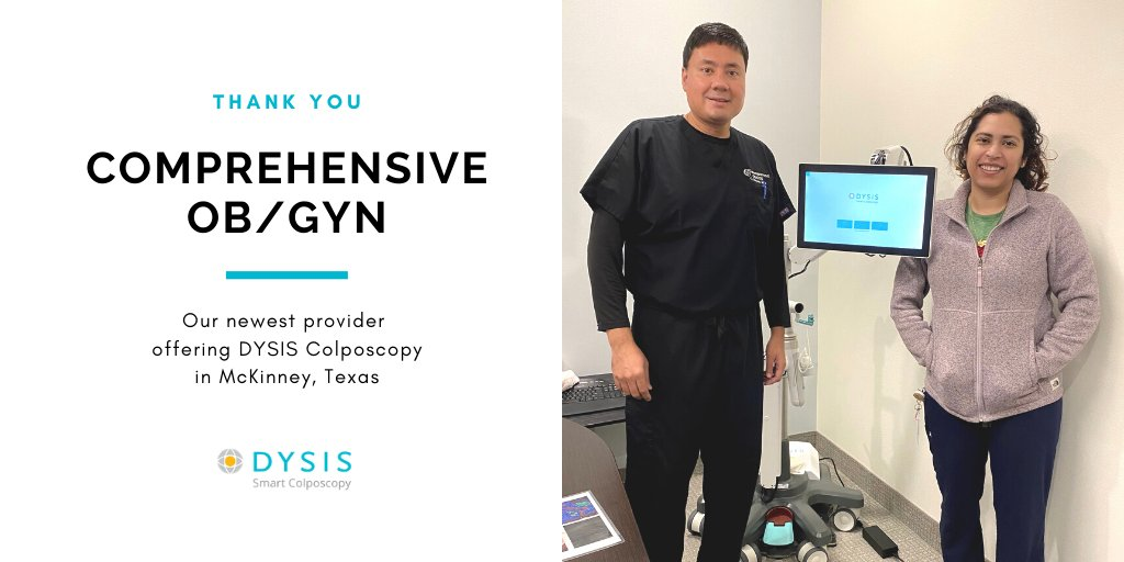 For #CervicalCancerAwareness Month, we recognize provider and DYSIS partner Comprehensive OB/GYN in McKinney, Texas for their dedication to early detection and diagnosis of #cervicalcancer. See how DYSIS can help your practice:  #obgyn #womenshealth #ccpw