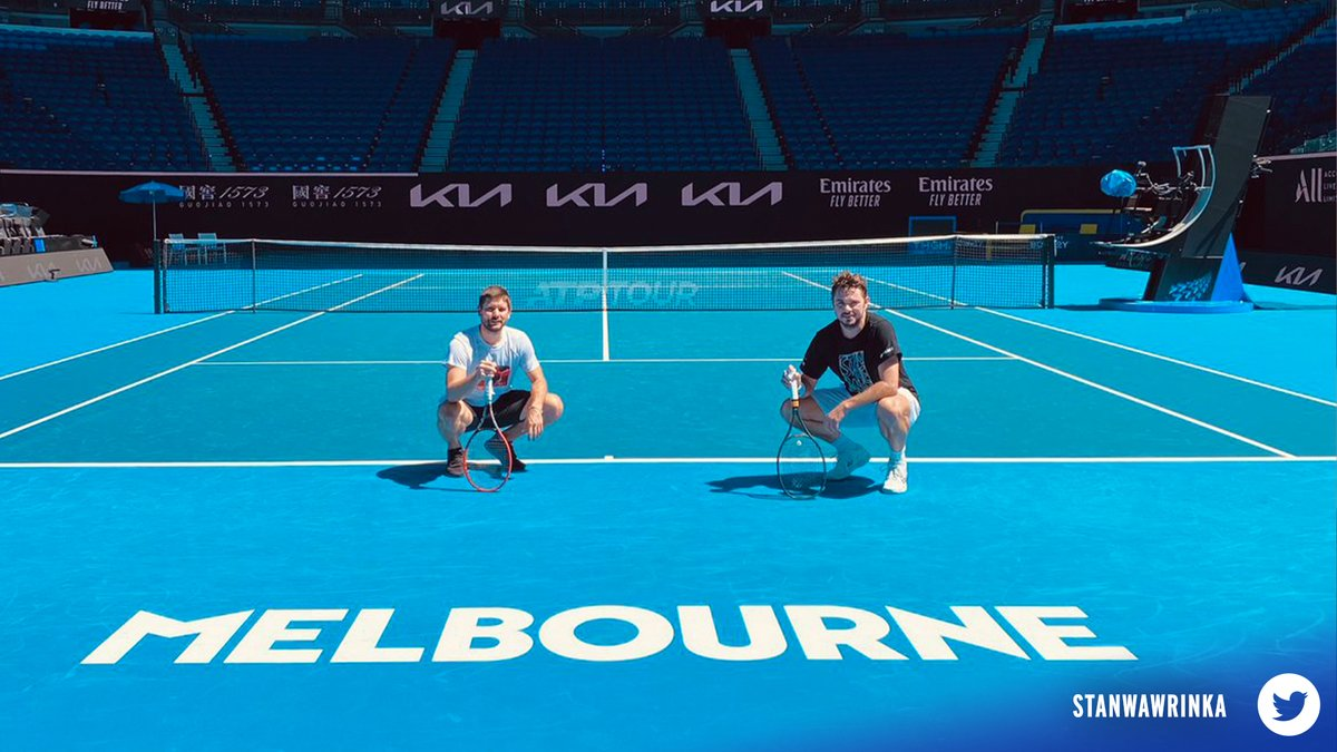 Players are in Melbourne making preparations for the upcoming Australian Open, and they're showing some creativity in doing so.  All of that and more in this weeks edition of Hot Shots 👉