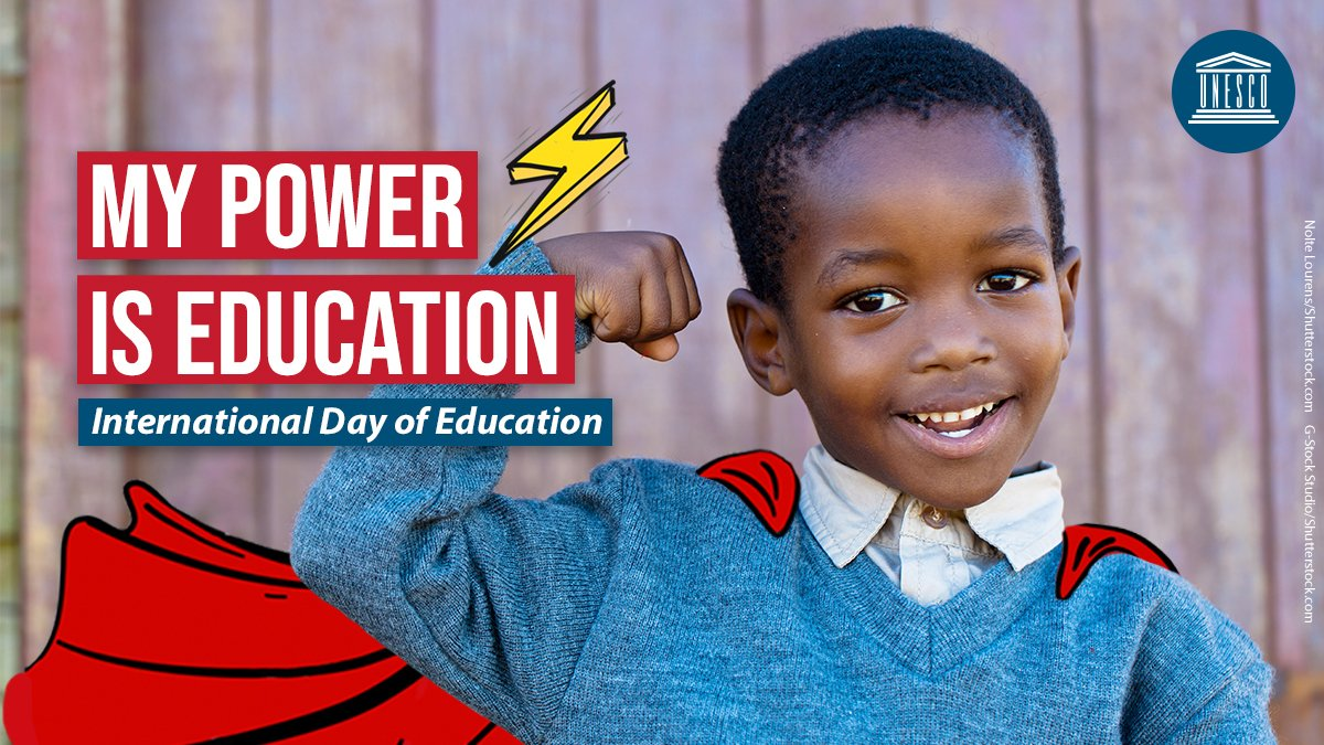 A quality education can transform lives by empowering people and helping overcome poverty, inequality & discrimination. It's also a human right.  On Sunday's #EducationDay, join @UNESCO in calling for greater funding for learning recovery amid #COVID19.