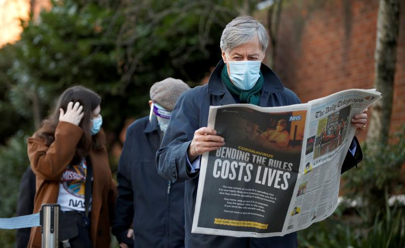 UK COVID death toll reaches 95,981, nearly 5.4 million vaccinated https://t.co/XTH4VrFINk https://t.co/DNwcRxNcba
