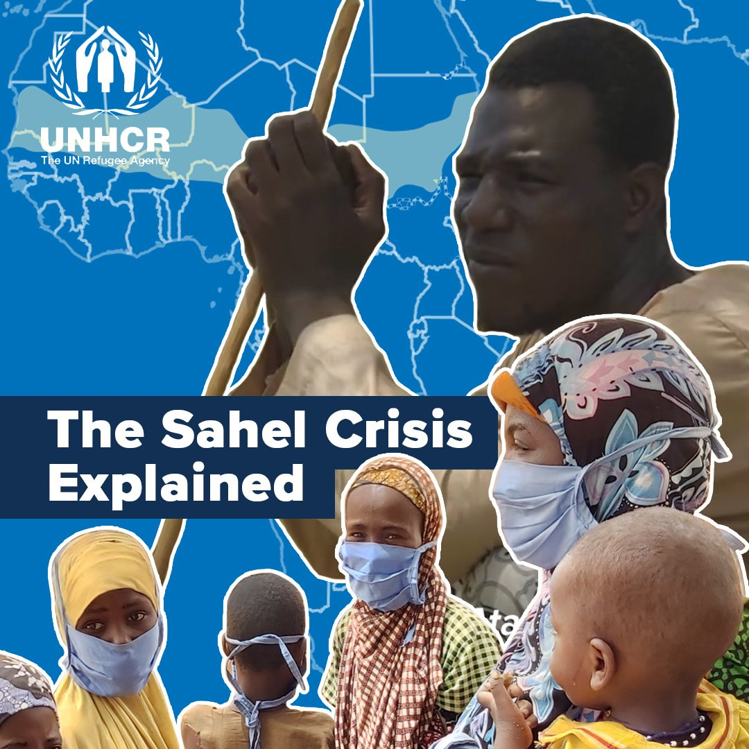 Conflict, natural disasters, and unspeakable violence have forced millions from their homes in the Sahel.