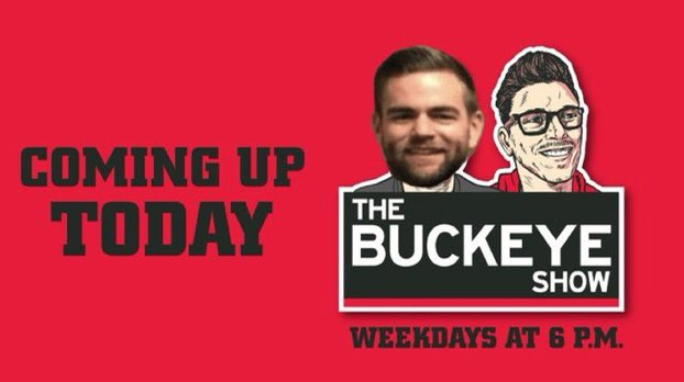 Coming up on tonight's Buckeye Show! (6-8pm) -Chris Holtmann's squad gets a boost  -Ryan Day presser - @AdamJardy at 6:33 -POWER FIVE -Notre Dame football placed on probation -What is going to happen at the DC position with OSU? -@_Pat_Murphy at 7:30 -#Buckeyes