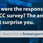 Image for the Tweet beginning: We surveyed ECC and PSAP