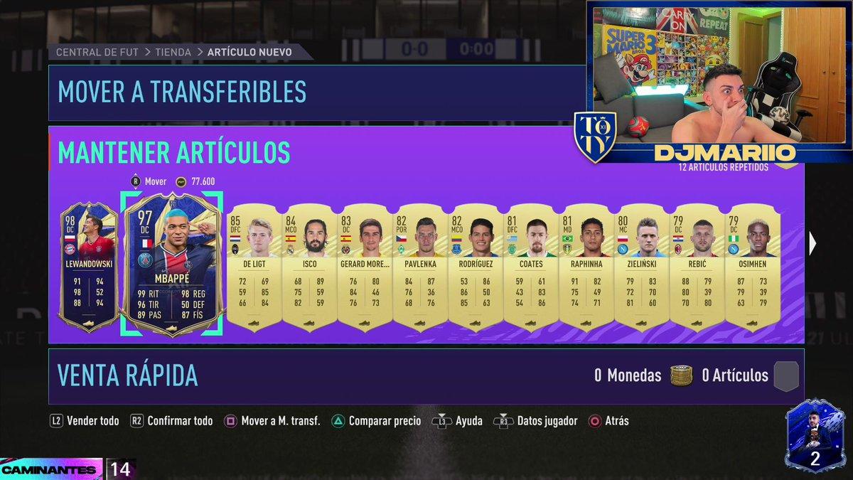 ME HE PASADO EL FIFA 21