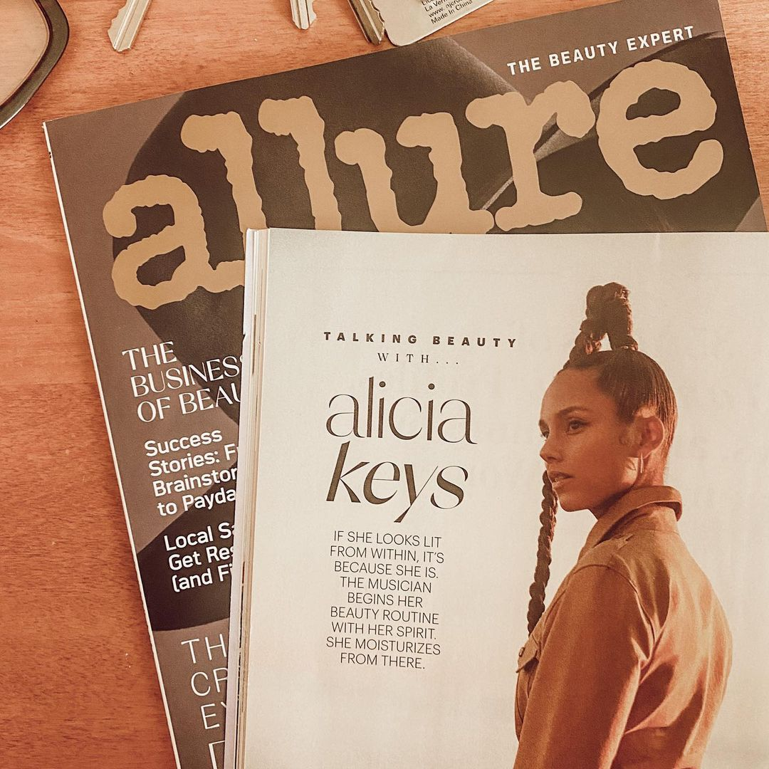 "The Feb issue of @Allure_Magazine is shining a special light on soulcare🧡🤩  ""The [Keys Soulcare] mission is equal parts meditation and moisturizer, and there is no other brand educating customers on the energetic aspect of skincare in quite the same way."" -@jessicadefino_"