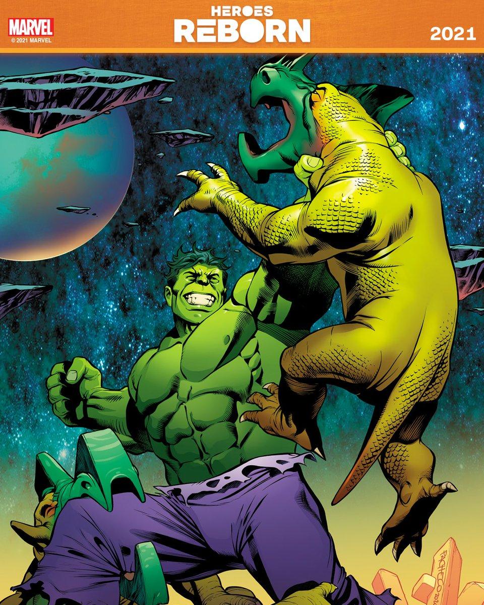 #MarvelHeroesReborn 2021  🟠: